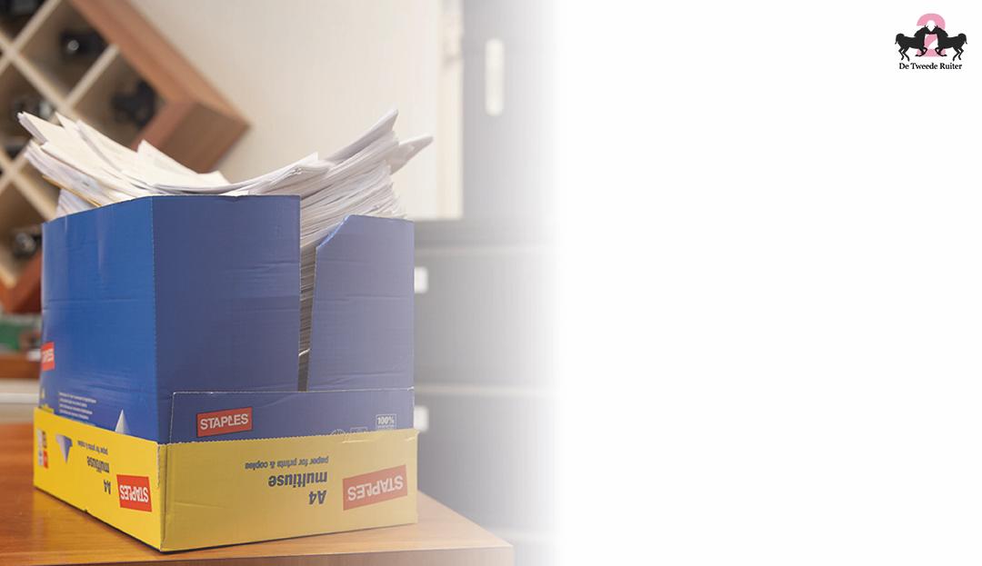 Wij verzorgen uw administratie op de manier die bij u past: of u nu een volledig digitaal overzicht aanlevert of een schoenendoos vol bonnetjes.